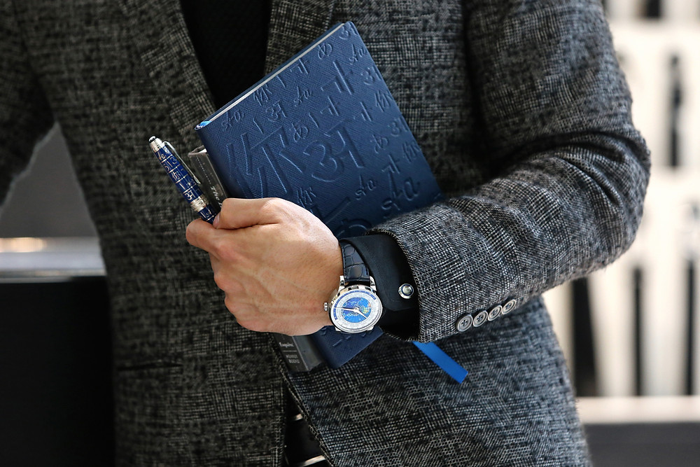 Montblanc Fine Stationery UNICEF Notebook by Andre Amir for Montblanc Malaysia
