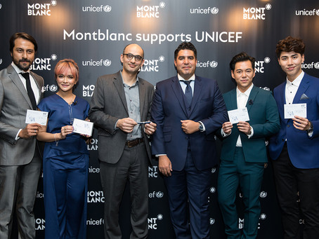 Passing On The Gift Of Writing: Montblanc for UNICEF Collection Unveiled in Kuala Lumpur