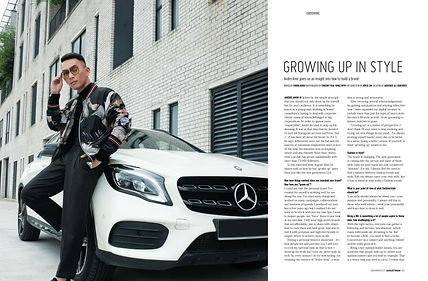 Andre Amir Dior Homme August Man Mercedes Benz Malaysia Influencer