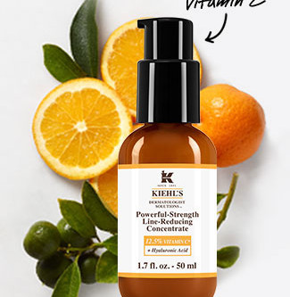 Kiehl's favourite serum now with more Vitamin C!