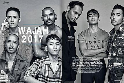 Andre Amir Glam Lelaki Burberry Fashion Malaysia Influencer Stylish