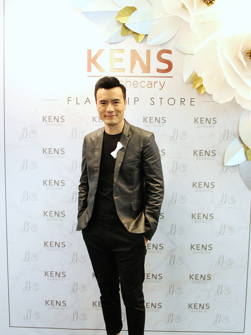 Frederick Lee attending KENS Apothecary Flagship Store Launch at the Gardens Mall Kuala Lumpur