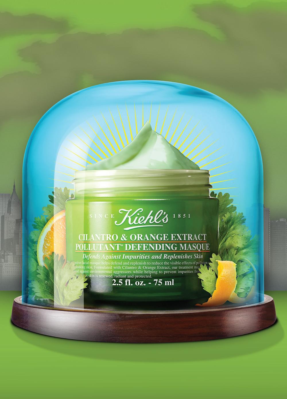 Kiehl's Nature Powered Masque Cilantro & Orange Extract
