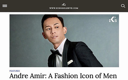 Andre Amir KingsSleeve Men's Fashion Icon
