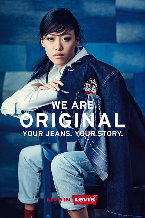 Sheena Liam for Levi's We Are Original Malaysia