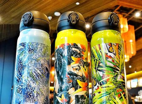 Starbucks Malaysia's first Designer Collaboration with Rico Rinaldi