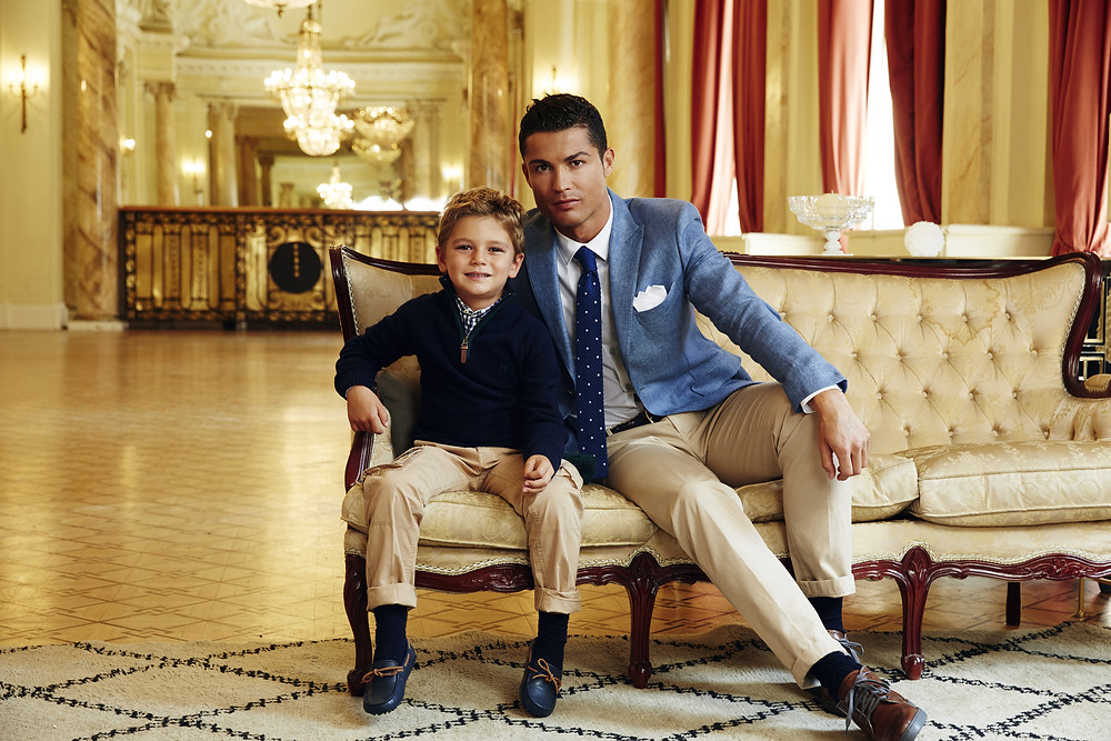 Christiano Ronaldo in suits