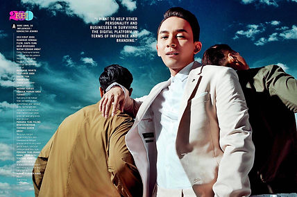 Andre Amir Male Fashion Stylish Influencer EH Magazine