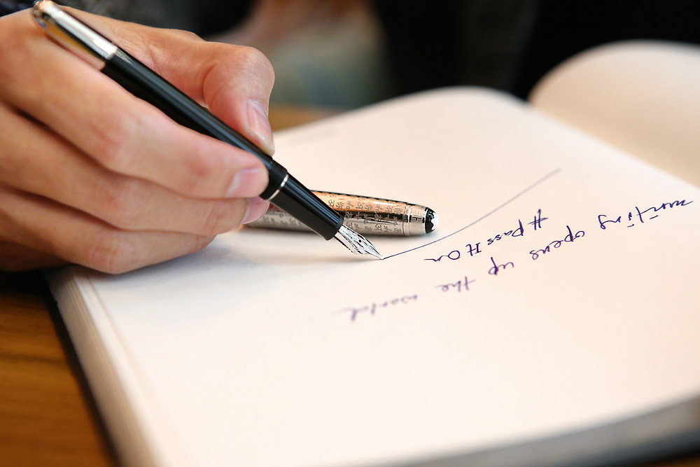 Writing opens up the world. #PassItOn with Montblanc and UNICEF by Andre Amir for Montblanc Malaysia