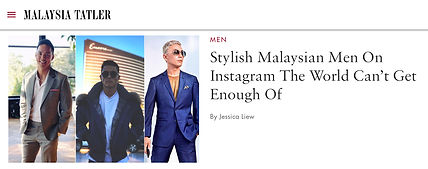 Andre Amir Malaysia Tatler Stylish Men on Instagram