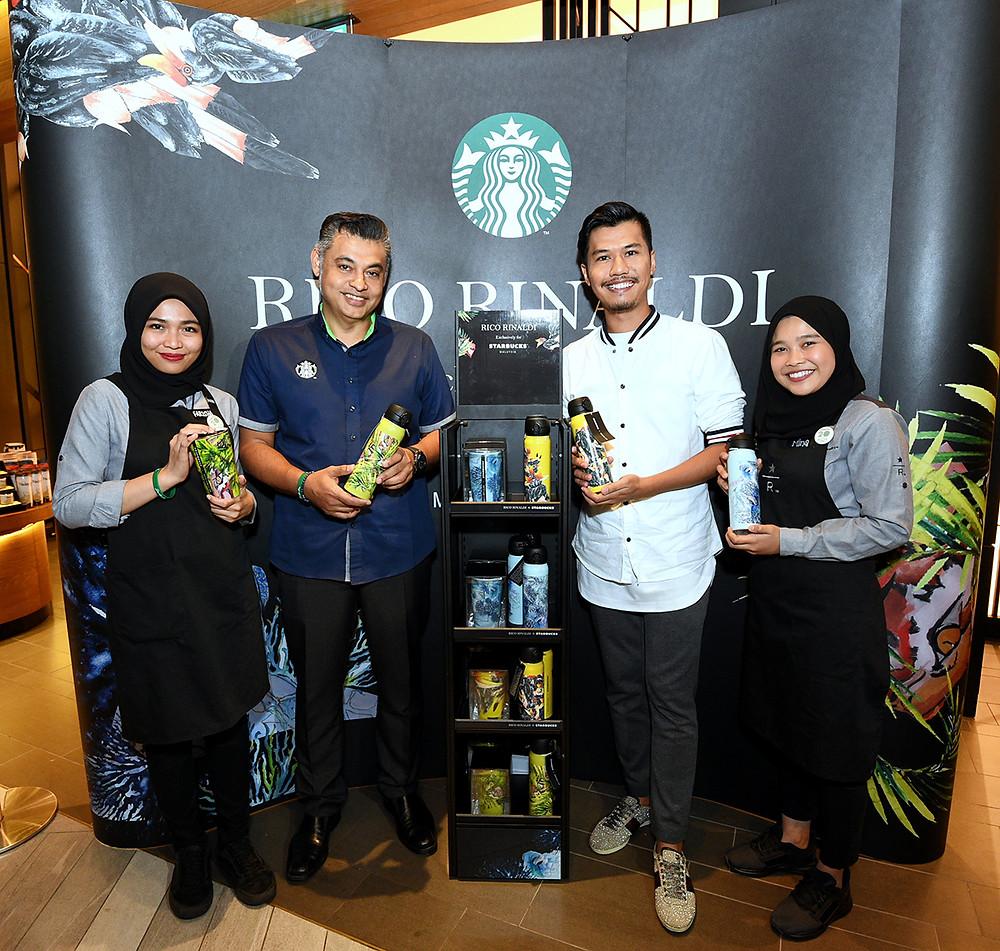 Sydney Quays, Berjaya Foods Berhad, Rico Rinaldi, Starbucks Malaysia, Merdeka Day, 2018