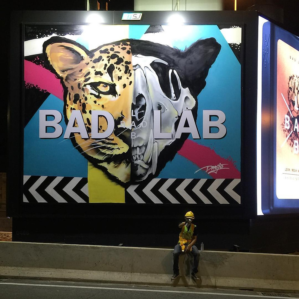 #badlabbillboards #badlabgangof4 Bad Lab Co Malaysia Dmojo