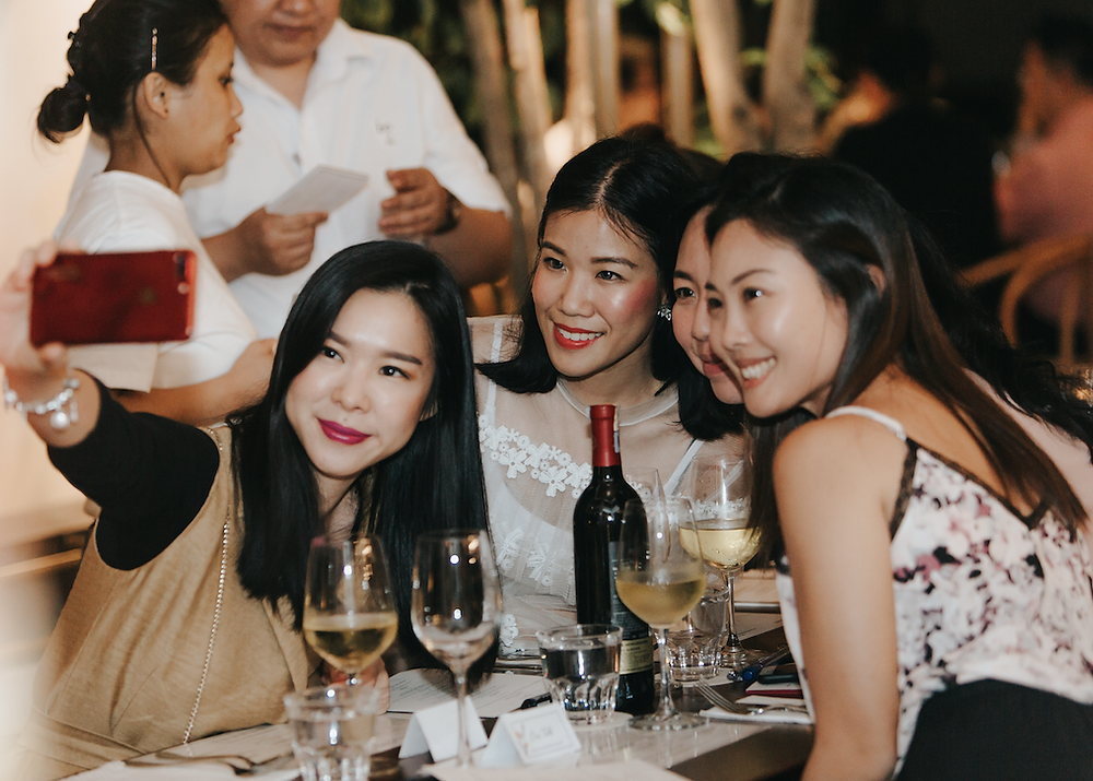 Beringer Winederlust Dinner hosted by Levy Li
