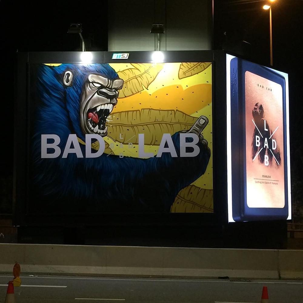 #BadLabBillboards #BadLabGangOf4 Bad Lab Co Malaysia Katun