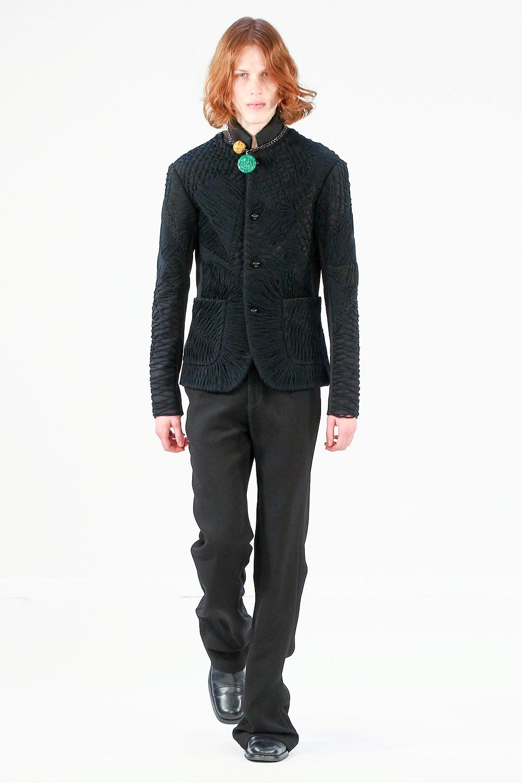 Bernard Chandran AW16/17 Menswear 'Give Face'