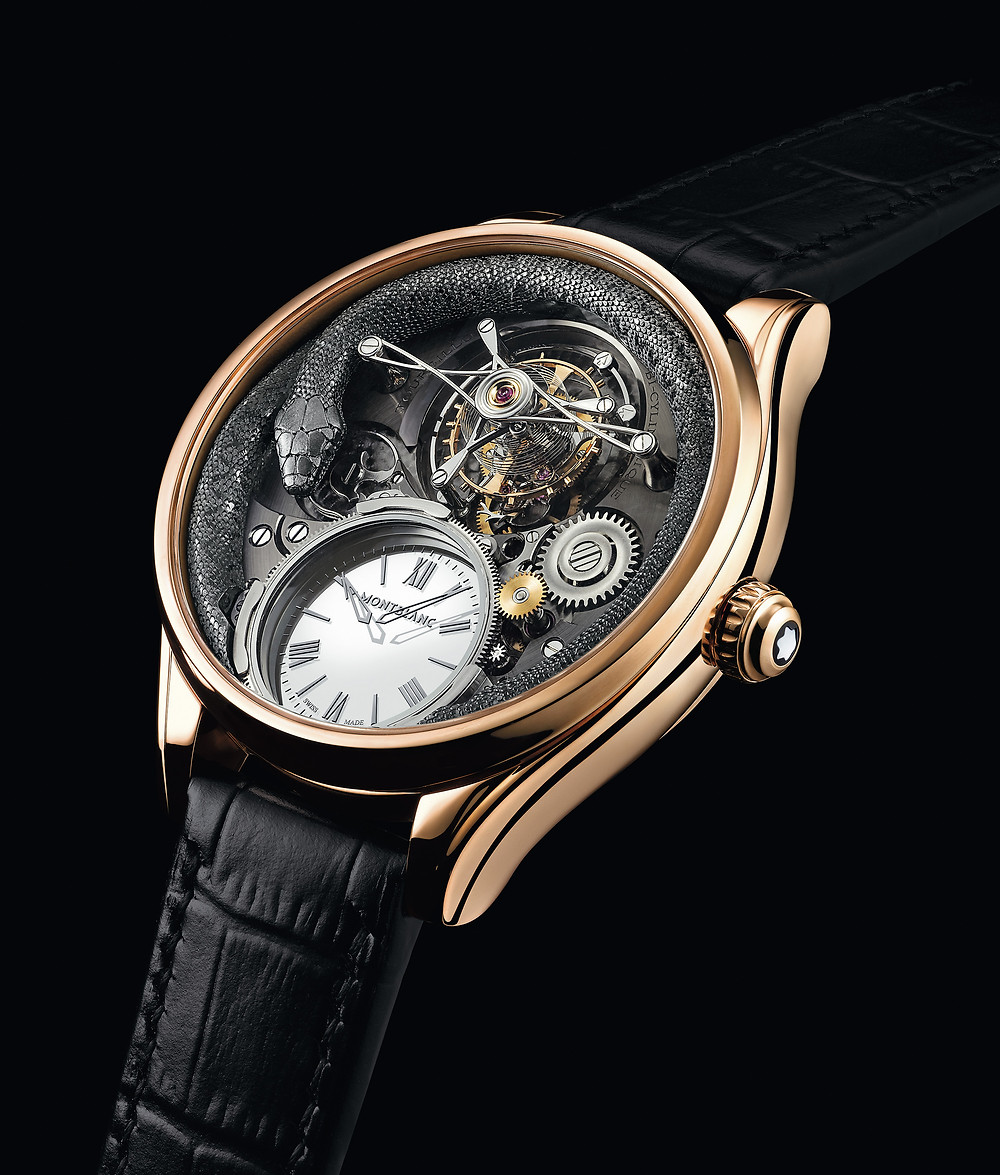 Montblanc Collection Villeret Tourbillon Bi-Cylindrique 110 Years Anniversary Limited Edition