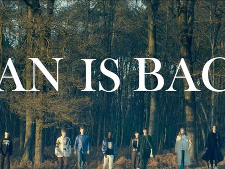 Man is back: A fashion film for Men's Milan Fashion Week FW17/18