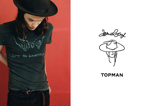 James Bay X TOPMAN Lookbook