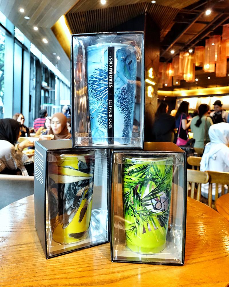 Double Walled Mug, Rico Rinaldi, Starbucks Malaysia, Merdeka Day, 2018