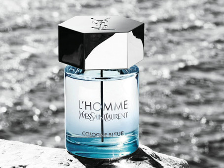 The Refreshing Scent of L'Homme Cologne Bleue by YSL