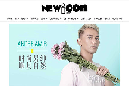 Andre Amir New Icon Fashion Icon Malaysia