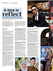 Life Inspired, The Star, COVID-19, Andre Amir, Content Creator, Men