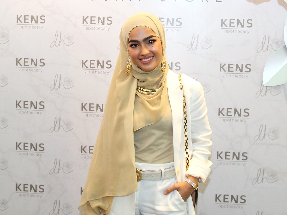 Elfira Roy attending KENS Apothecary Flagship Store Launch at the Gardens Mall Kuala Lumpur