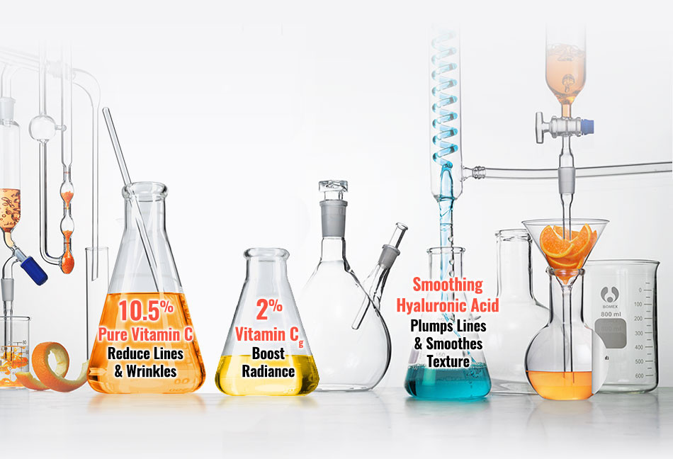 Kiehl's Powerful-Strength Line-Reducing Concentrate Vitamin C & Hyaluronic Acid