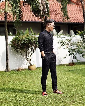 Andre Amir Hari Raya Baju Melayu Moden Malaysia Influencer Stylish