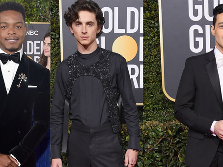 Top 10 Men's Fashion that matter at the 76th Golden Globes Awards