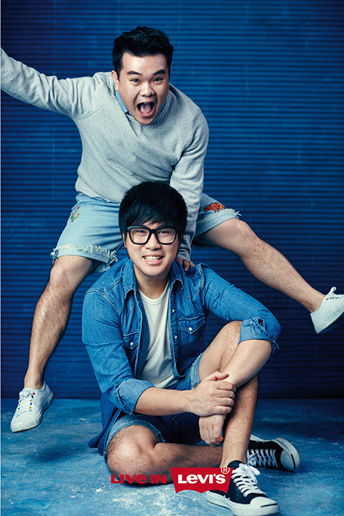 Jin Lim and Rueben Kang for Levi's We Are Original Malaysia