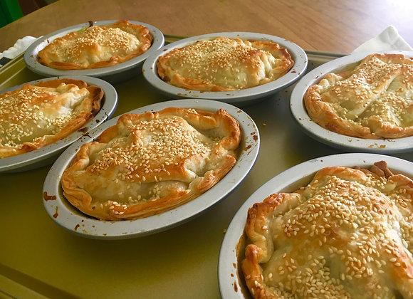 Chicken Mushroom & Leek Pies - Wholesale