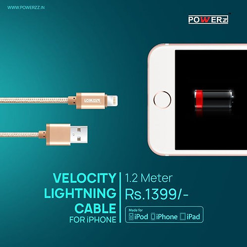 Velocity MFI Lightning Cable