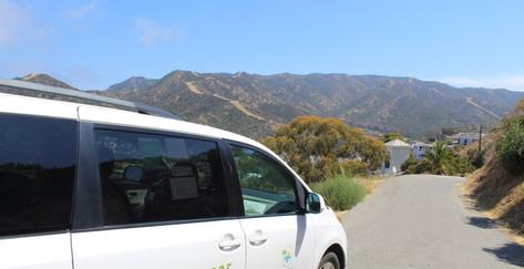 Catalina taxi tour