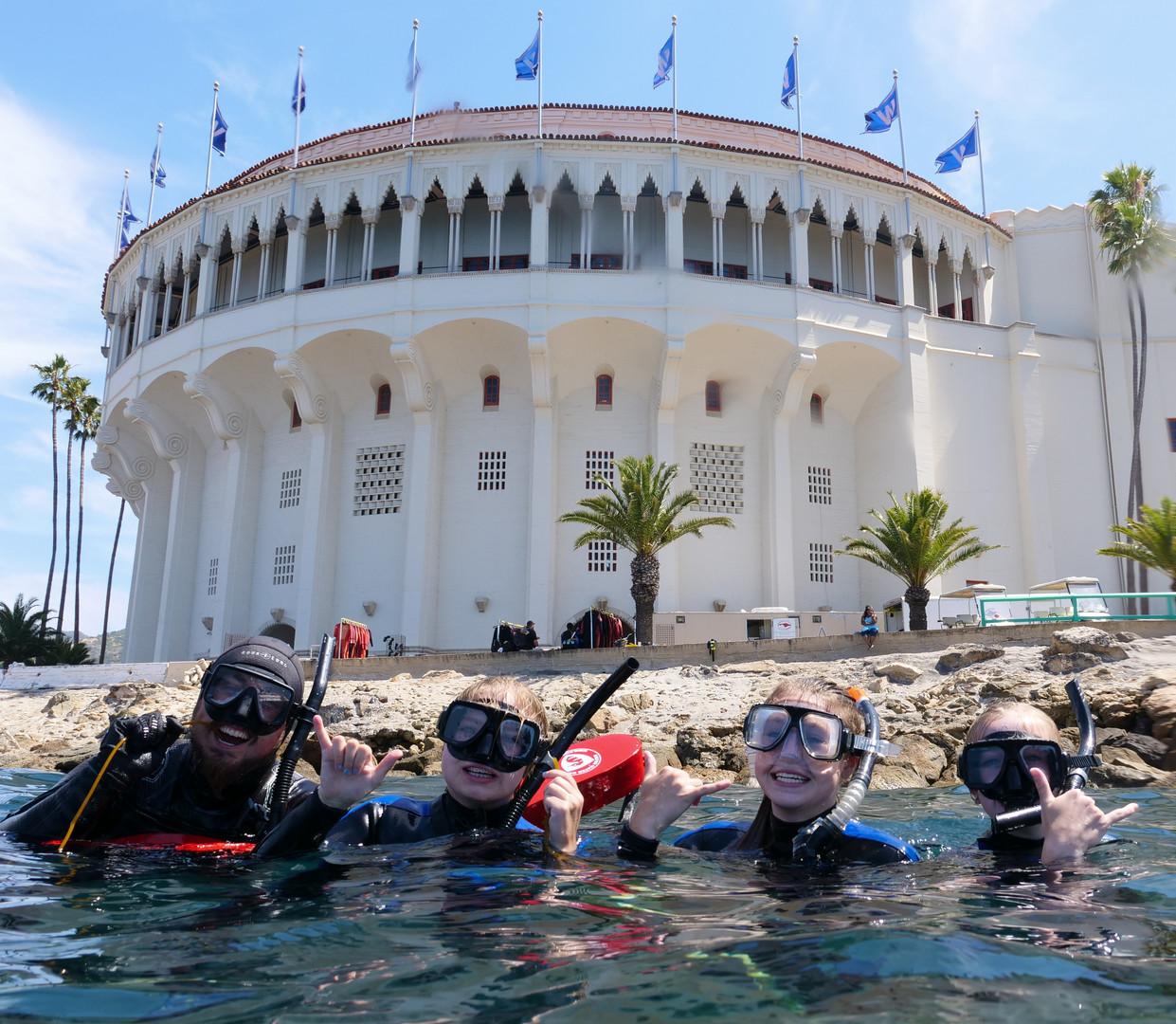 Snorkeling Catalina