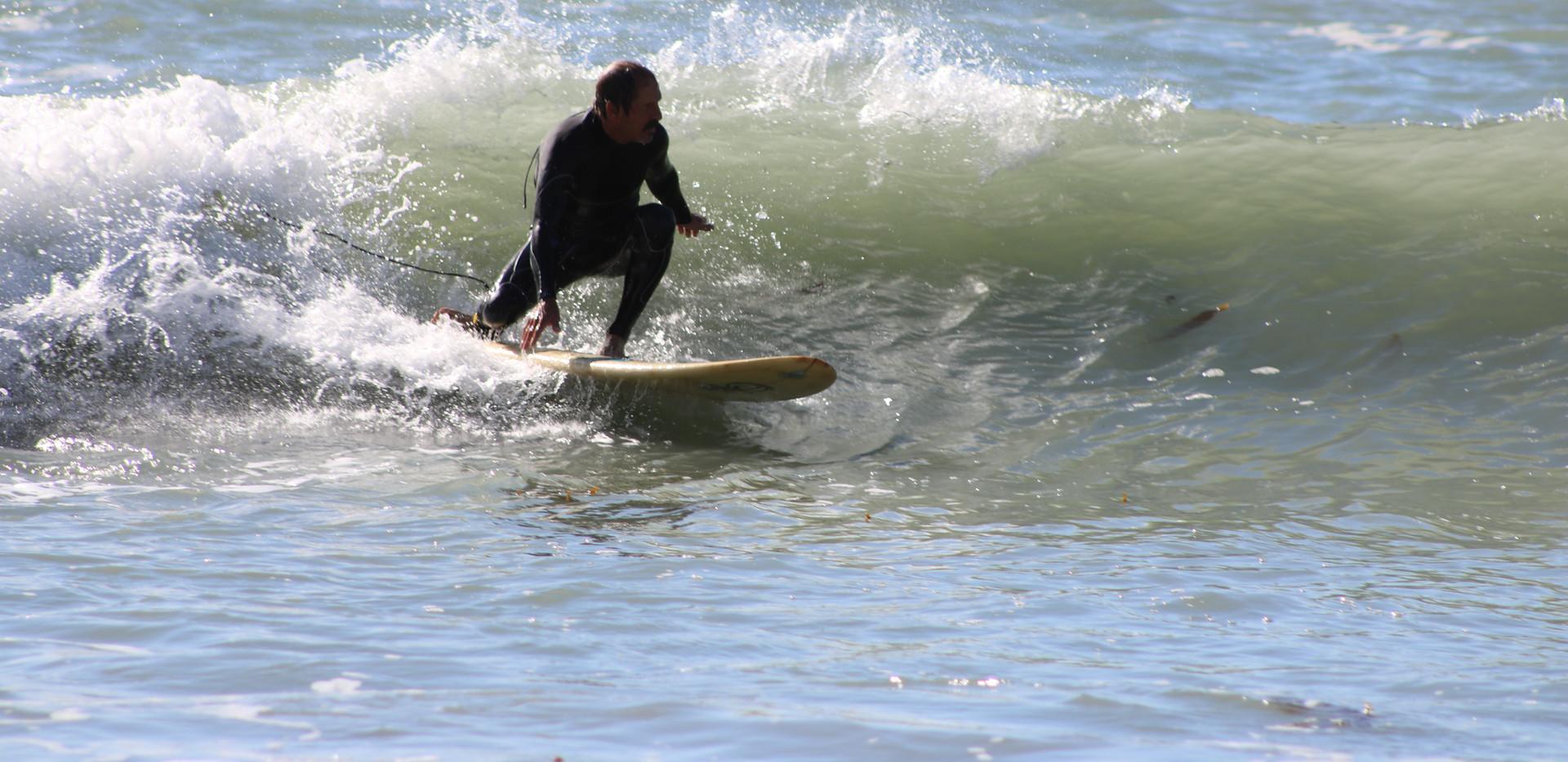 surfing on Catalina Island