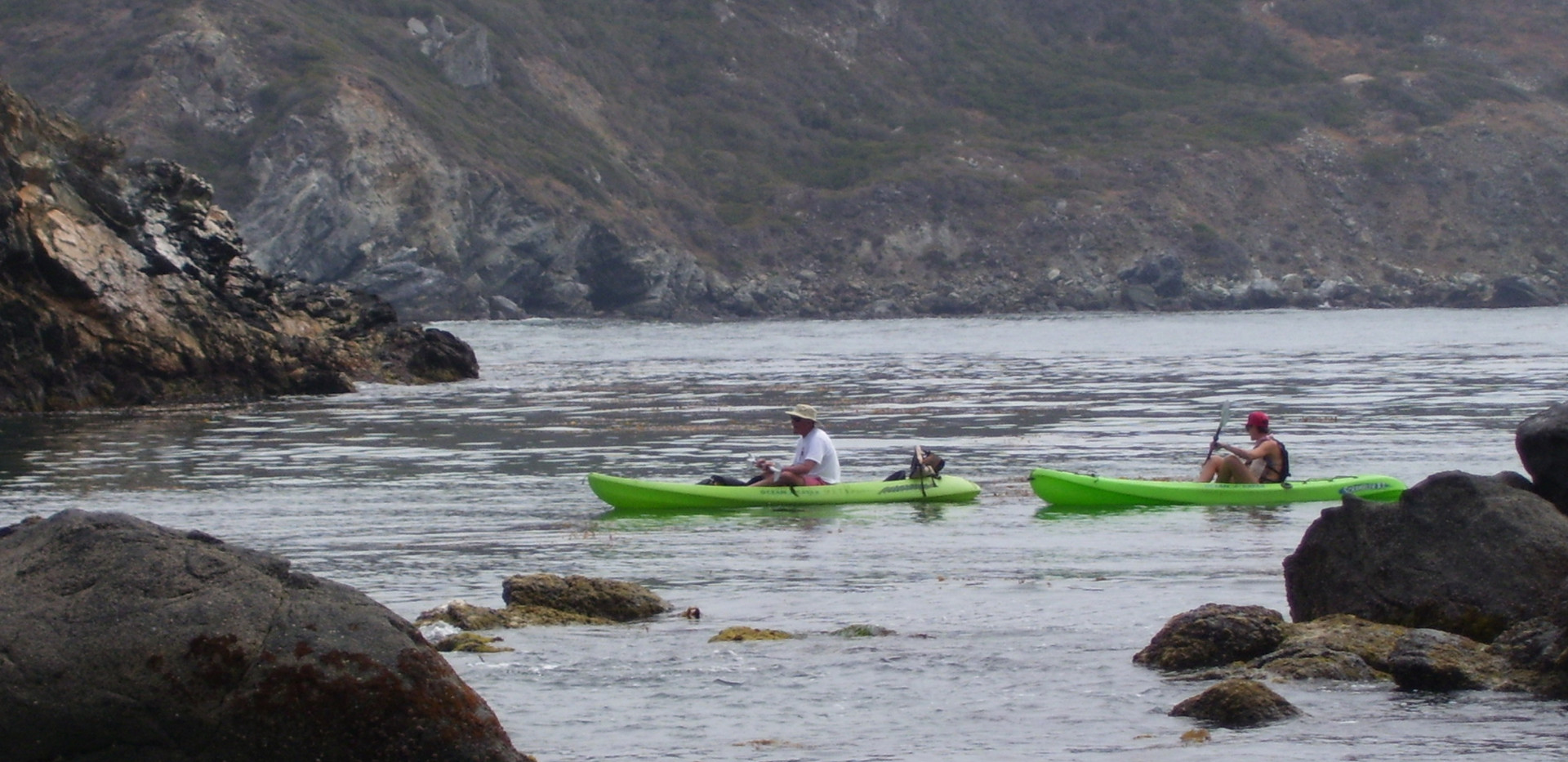 Kayaking on Catalina Island
