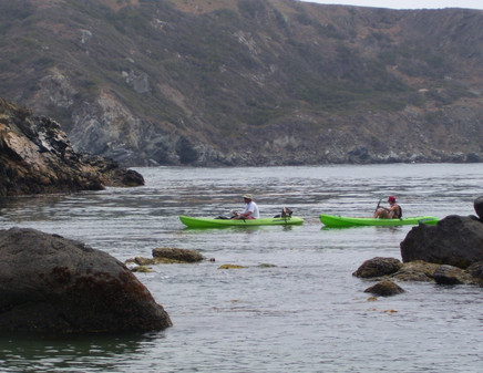Kayaking on Catalina Island
