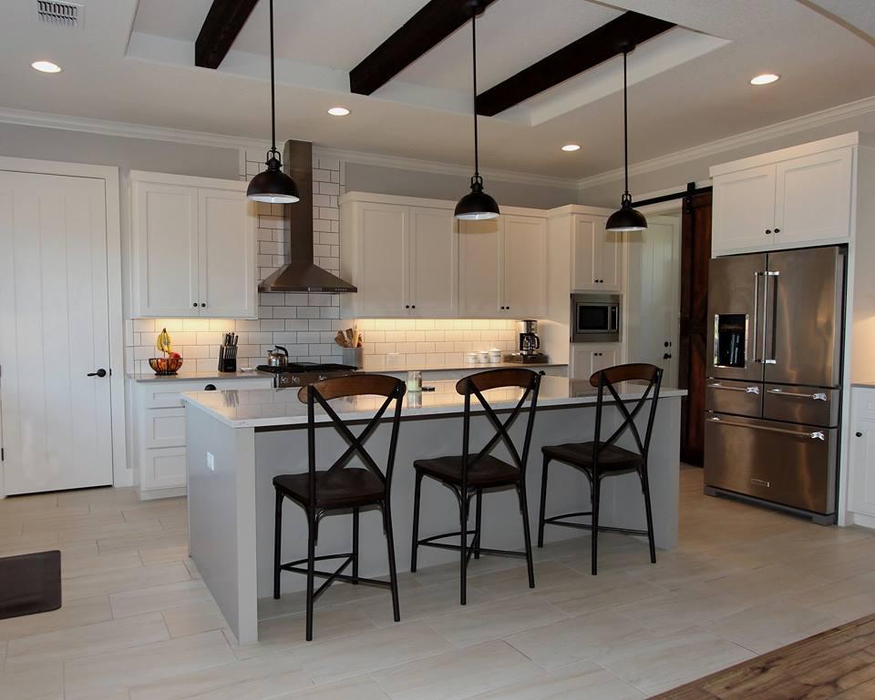 wimberley custom kitchen -- 606