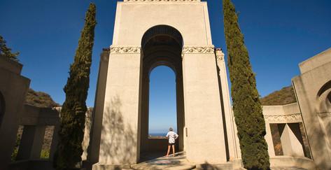 Wrigley Memorial on Catalina