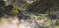 Jeep tour on Catalina Island