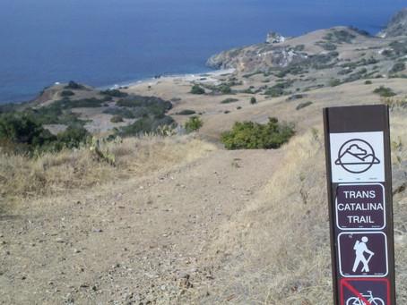 Exploring Catalina in the fall