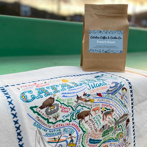 Catalina Towel & Coffee Package