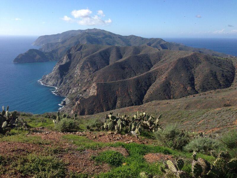 hiking catalina