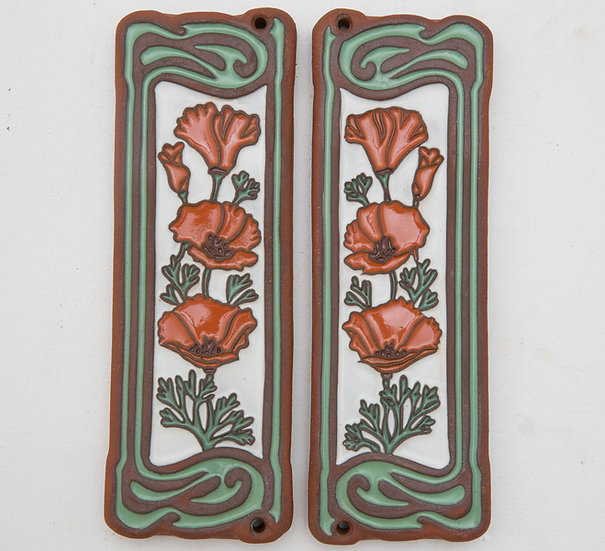 Pair of Arcadia Accents Poppy