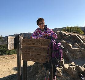Catalina hiking guide Linda Salo
