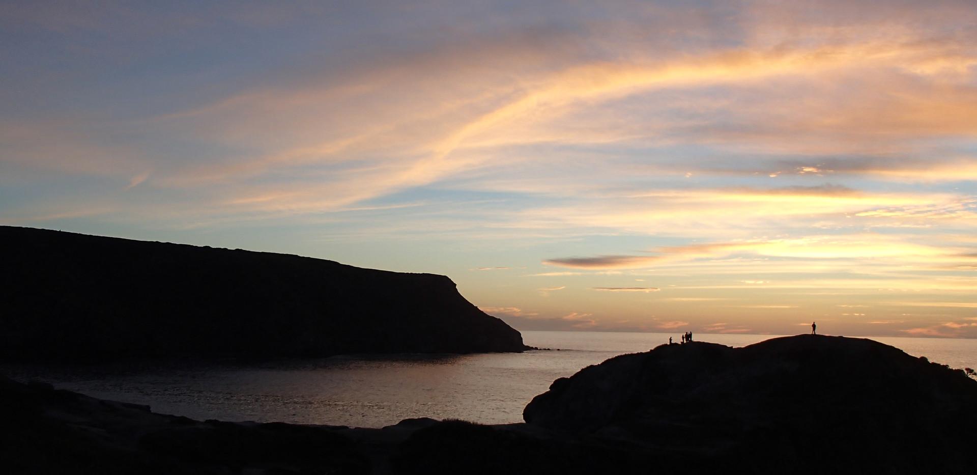 catalina island sunset
