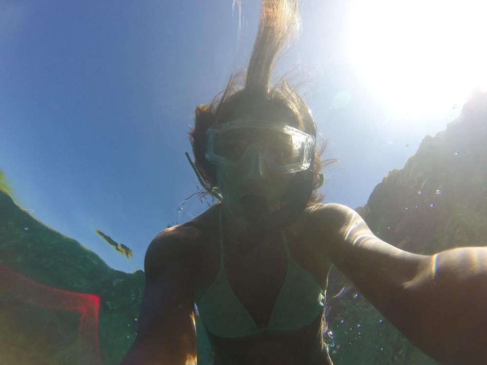 snorkeling on Catalina Island