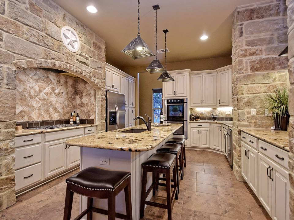 wimberley, TX custom kitchen -- 805