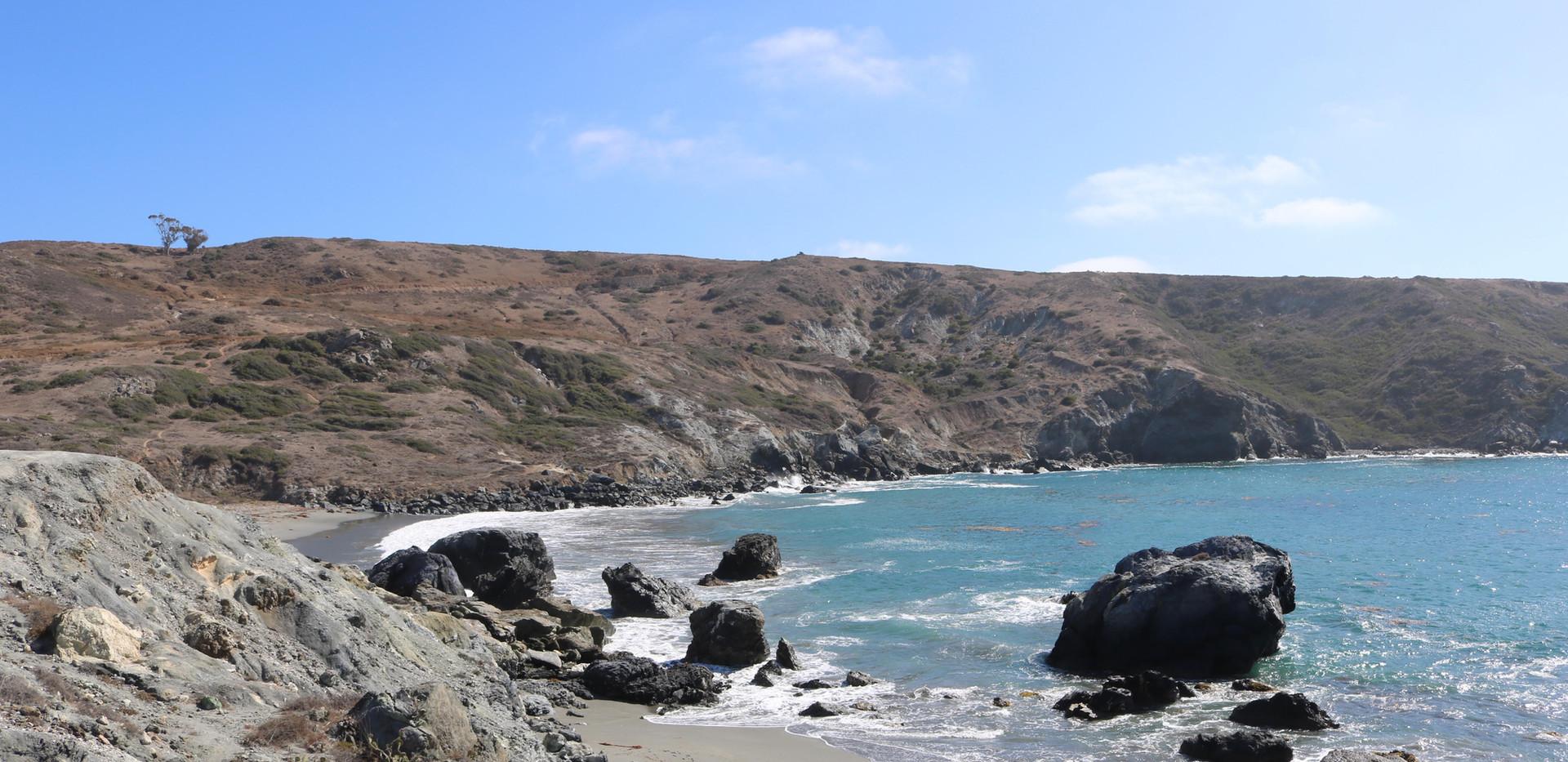 Hiking on Catalina Island